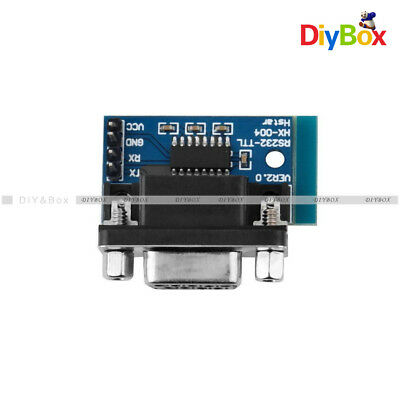 MAX3232 RS232 to TTL Serial Port Converter Module DB9 Connector MAX232 3.3V-5VDC