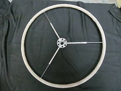 """Ship's Wheel - British Americas' Cup Yacht """"victory"""" 1983"""
