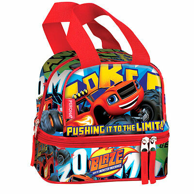 Blaze And The Monster Machines Lunch Bag Kids Picnic School Snack Box Limit