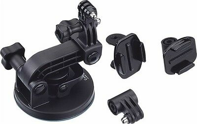 Genuine GoPro - Suction Cup Mount - Black