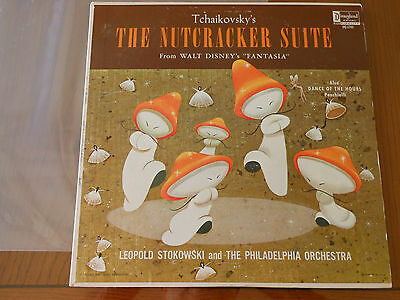 "LP  ""Nutcracker Suite"" from Walt Disney's Fantasia- From Disney collector"