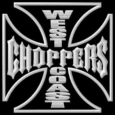 West Coast Choppers S ecusson brodé patche Thermocollant iron-on patch