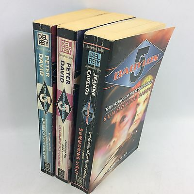 3 x Babylon 5  books joblot bundle SciFi Science Fiction