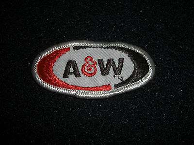 A & W Root Beer Soda Patch Vintage 1970's