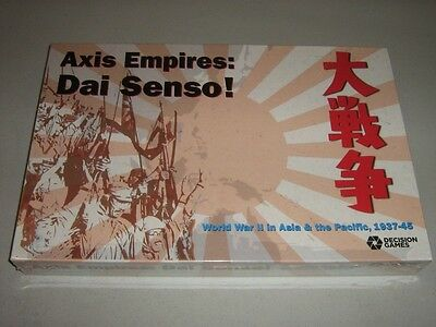 Axis Empires: Dai Senso! World War II in Asia & the Pacific, 1937-45 (New)