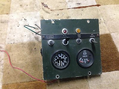 Land Rover Series 2 Centre Bulkhead Display Smiths Oil/water Temp