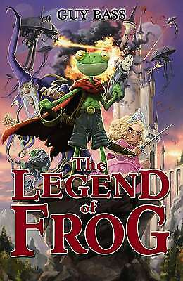 The Legend of Frog, Guy Bass, New Book