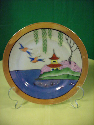 Old Japanese Medium-Size Scenic Plate {Made In Japan}