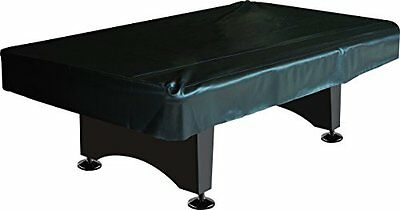 Pool Table Cover Fitted Billiard 8 ft Black Naugahyde Accessories Balls Top Cue