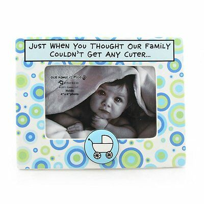Enesco Baby Boy Our Name Is Mud Cuter Photo Frame 7-Inch 4029373