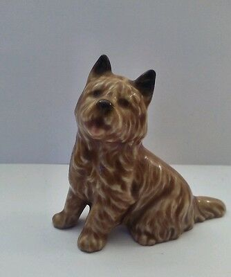 """Adorable Cairn Terrier, Norwich, Dog Statue Figurine 2.5"""""""