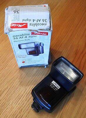 Metz Mecablitz 36 AF-4 Digital Shoe Mount Flash for OLYMPUS