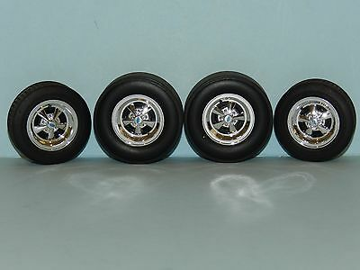 GMP 1/18 Crager Drag Wheel And Tyre Set Great for diorama or rebuilds