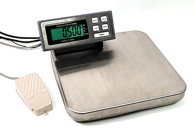 12 LB x 0.002 LB Tree Kitchen Food Pizza Scale With Foot Portion Switch NEW !!