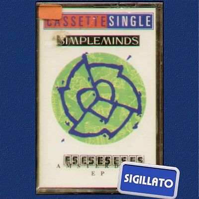 "Simple Minds "" The Amsterdam Ep "" Musicassetta Sigillata Mc K7"