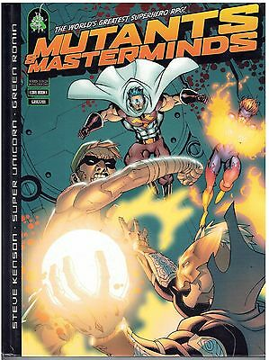 GRR2001 Mutants & Masterminds Core Rulebook Green Ronin 1st Edition NM