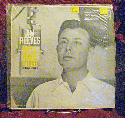 Jim Reeves - He'll Have To Go RCA Records 1959