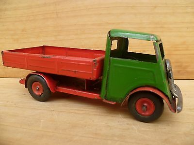Vintage Old English Made Mimic Clockwork Tin Plate Truck, Old Toy (C642)