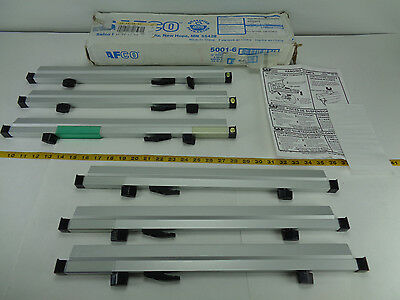 """Safco 18"""" Print Hanging Clamps Lot of 6 Clamps 5001-6 Blue Print Plan Holder T"""