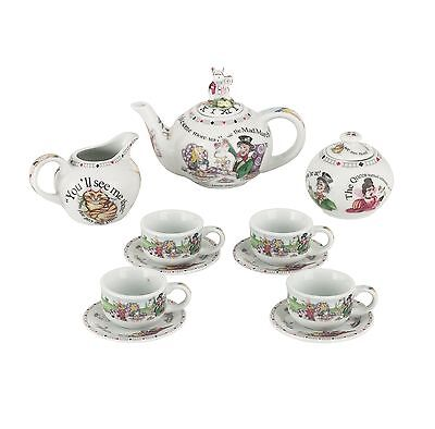 Cardew Design Alice in Wonderland Miniature Collector's Tea Set
