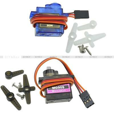 MG90S SG90 Micro Servo Motor RC Robot  Remote Control Metal Boat Car Helicopter