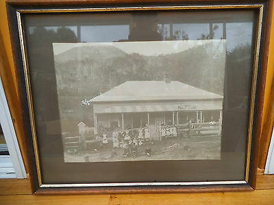 Vintage Old 1883 Nsw Public School, Large Framed Print, Photo From School