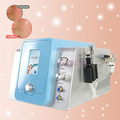 Hydra Dermabrasion Microdermabrasion Skin Peeling Cleansing Machine With 2 Wands