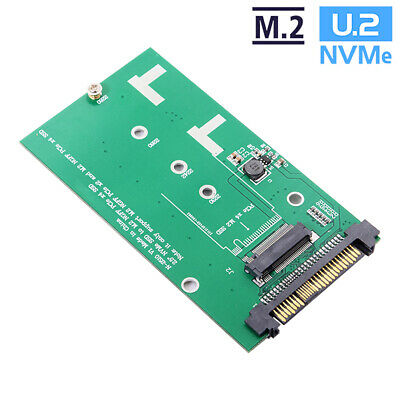 SFF-8639 NVME U.2 to NGFF M.2 M-key PCIe SSD Adapter for SSD 750 p3600 p3700