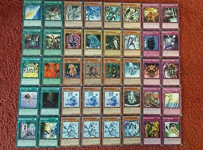 Yu-Gi-Oh Wind and Water Dragon Deck - 40 cards complete BONUS 5 cards