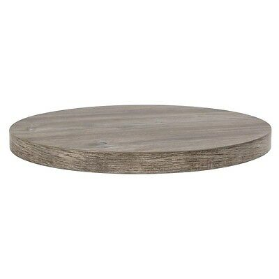 Durolight Round Table Top Vintage Pine Effect 600mm
