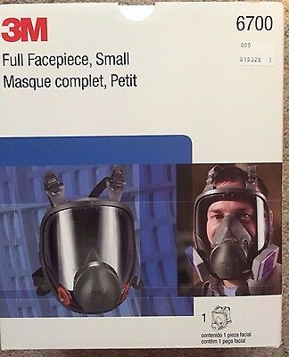 3M full face respirator size Small brand new AWESOME!