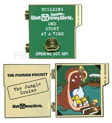 LE 750 Florida Project Jungle Cruise Chip Dale Donald Building Story Disney Pin