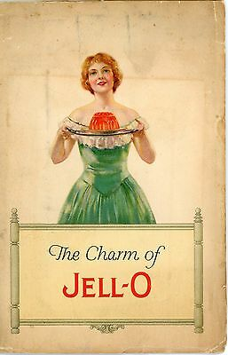 Vintage 1926 Booklet: The Charm of Jell-O. Menus, Recipes, and Table Service