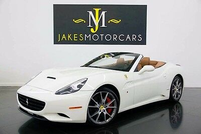 2010 Ferrari California  2010 Ferrari California, White on Cuoio, Only 14k Miles! Loaded with Options!