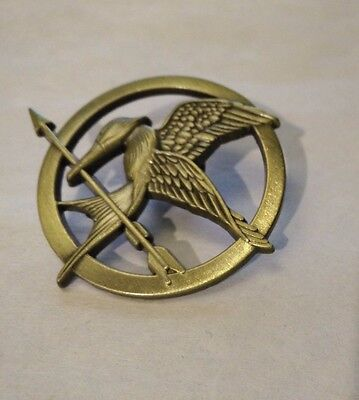 Hunger Games Movie Mockingjay Katniss Everdeen LGF Pin Brooch FREE CDN SHIPPING