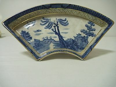 Booths Real Old Willow  Segment from  Hors d'oeuvres set c1920s