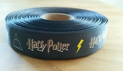 Harry Potter Grosgrain Ribbon for hair accessories, cakes, crafting, etc