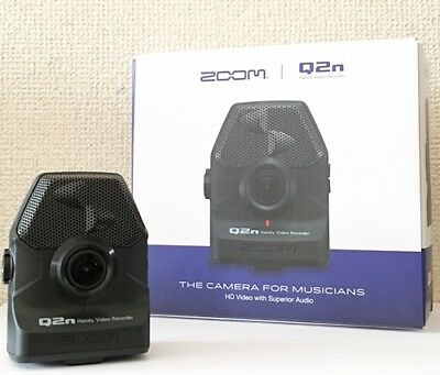NEW ZOOM Q2n Handy HD Video Audio Recorder Built-In XY Mic From JAPAN
