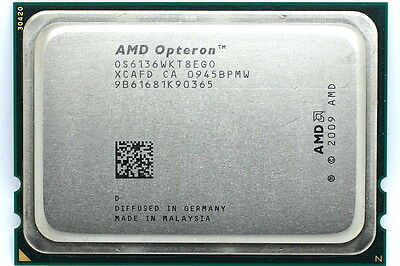 AMD 2.4GHz 8-Core Opteron 6136 (80W) OS6136WKT8EGO Socket G34 Magny Cours CPU