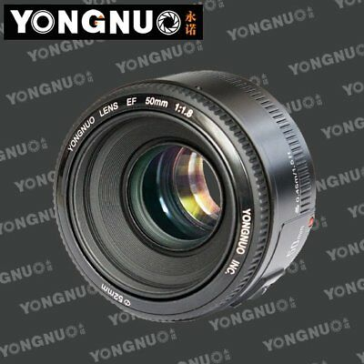 Yongnuo YN50mm F1.8 Large Aperture Auto Focus Lens for Canon EOS EF Mount
