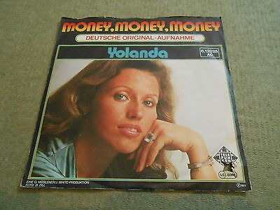 "Yolanda - Money Money Money, D-Coverversion des ABBA-Titels, sehr rare 7"" TOP"