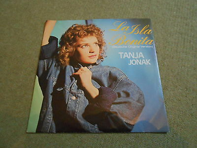 "Tanja Jonak - La Isla Bonita, D-Coverversion des Madonna Titels, rare 7"" TOP"