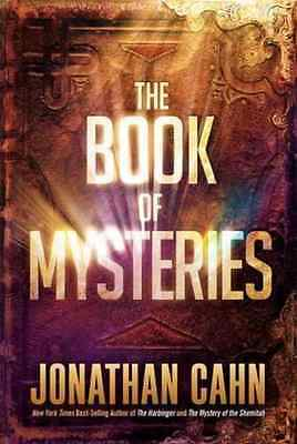The Book of Mysteries by Jonathan Cahn Hardcover 2016-Free Shipping