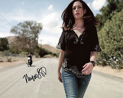 Maggie Siff - Tara Knowles - Sons of Anarchy - Signed Autograph REPRINT