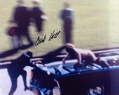 Clint Hill - JFK former United States Secret Service - Signed Autograph REPRINT