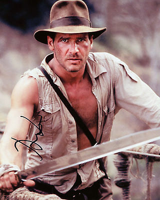 Harrison Ford - Indiana Jones - The Temple of Doom - Signed Autograph REPRINT