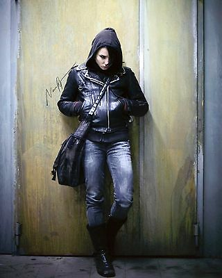 Noomi Rapace -Lisbeth- The Girl with the Dragon Tattoo- Signed Autograph REPRINT
