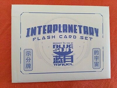 Firefly Loot Crate Interplanetary Flash Card Set