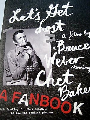 "Chet BAKER Fanbook by BRUCE WEBER ""LET´s GET LOST"""