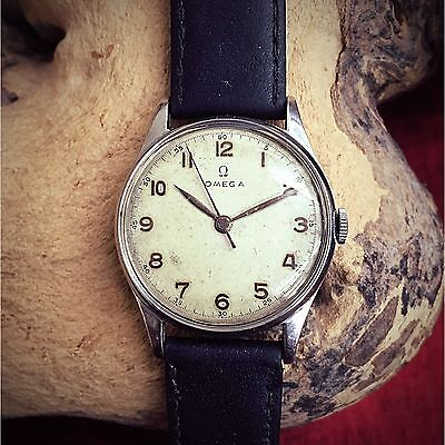 1950's OMEGA GENTS WRIST WATCH IN ORIGINAL VINTAGE CONDITIONS